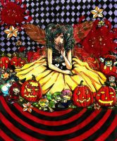 Dolls and Pumpkins by sadistic-death