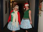 Wrapping Paper skirts by CaptainCarl
