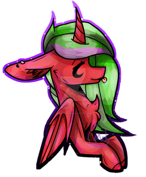 Art trade with Enjal by BasesMLP123