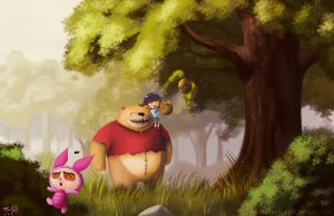 Tibbers the Pooh? by Shubaobao