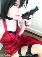 Ada Wong Resident Evil 4 updated cosplay by MasterCyclonis1