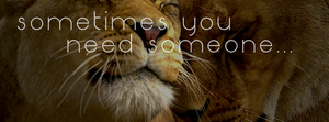 Sometimes you need someone - Facebook Titelbild by rockIT-RH