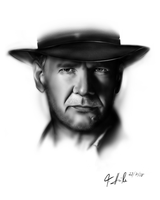 Harrison Ford Portrait by Dick3rl3