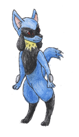 Riolu by bubblewrap-pancakes