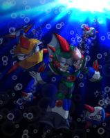 Swimming with the Fishes by spdy4