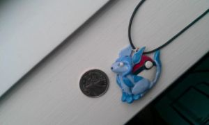 Glaceon Pendant by VikingVal