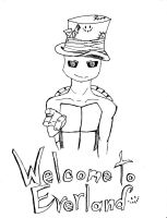 Welcome to Everland - Lineart by randomdrawerchic