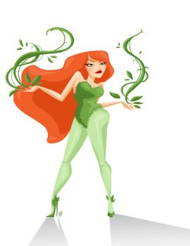 Poison Ivy by GenevieveFT