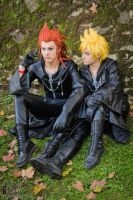 long time ago we used to be friends ~Axel + Roxas~ by NekoHibaPC