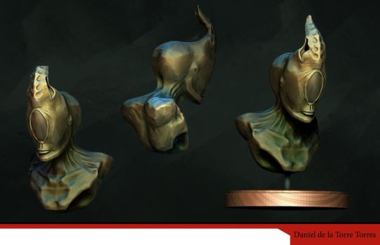 Sculpture Practice on Zbrush by Onnessa