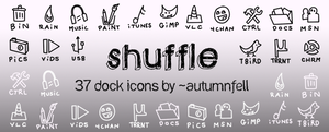 Shuffle Icon Set by AutumnFell