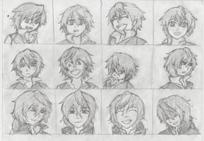 Oz and jack expressions doodles by jadenyugi9