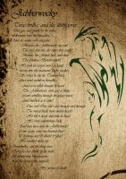 Jabberwocky Poem in Script by Vengar77