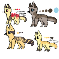 Adoptables - 20 points ea. by makeyour0wnluck