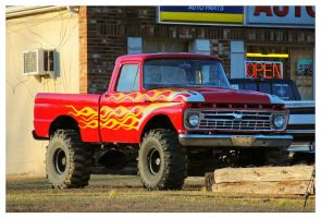 Flamin' Hot Ford by TheMan268