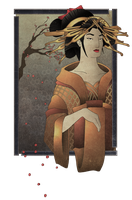 Geisha design by HuntingTown