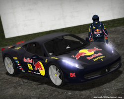 Ferrari 458 Italia Red Bull Edition by MarineACU
