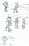 Math Doodles 1-6-2011 by JesterOfToast