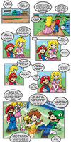 Mario: Alone at Home Pg 16 by saiiko