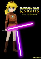 Knight Jedi Peach by Magnus-Bowser