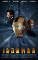 Ironman movie poster by TonyFbaby