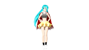 MMD DT PDA Yume Yume Preview (video link) by willianbrasil