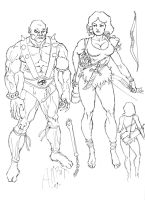 Thundercats Sketches 01 by AllPat