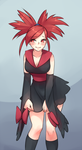 Furisode Flannery by monorus