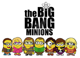 Big Bang Minions by jmascia