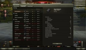 877 damage received with pz1c by Cippman