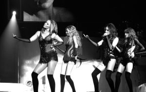 Girls Aloud performing in Bournemouth, UK by TheLovingKind89
