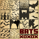 Bat Brush Pack [2013] by radroachmeat