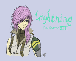 Lightning FFXIII by issabissabel