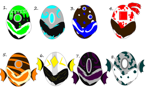 Shrilla Egg Adopts-OPEN- by xXStormys-AdoptsXx