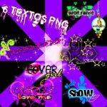 Pack textos png de big time rush by malusitarusher