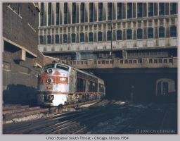 Union Station South Throat by classictrains