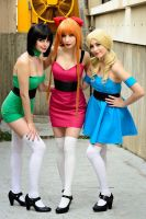 The Powerpuff Girls by NunnallyLol