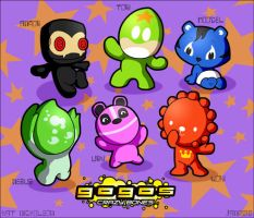 Gogos Crazy Bones Coloured by Kat-Nicholson
