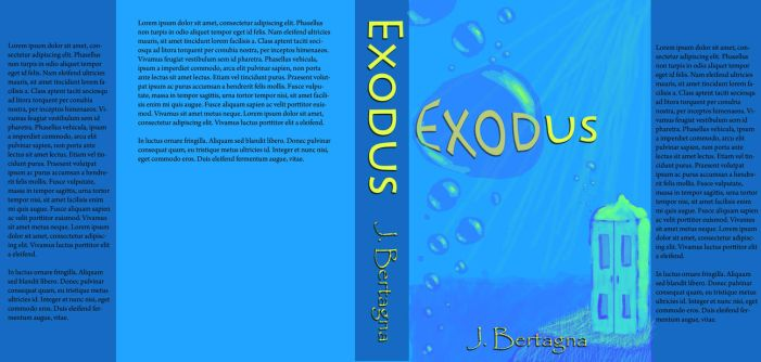 Exodus Book Cover by bern001