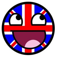 Union Jack Awesome Face by TigerJ15
