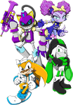 Zone Runners: Triple Trouble Makers by KetrinDarkDragon