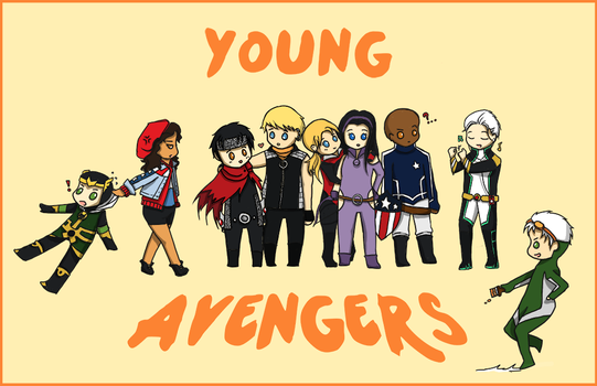 young avengers collected by Megami-Yaiba