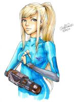 Zero Suit Samus by raspberrychocolate