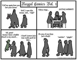Nazgul Comics - Volume 1 by rheall