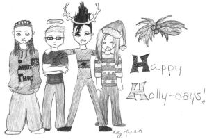 Happy Holly-Days by cease-this-fear