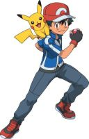 Ash Ketchum and Pikachu (Pokemon XY) by 3D4D