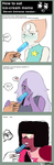 How to eat a ice-cream ! Steven Universe by lazy-Time