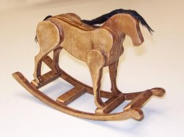 a rocking horse by NickDClements