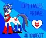 TransFormers Pony-Optimus Prime by Autumn123Charlotte