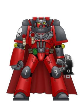 Red Tide First Company Captain by Regulus-Gades